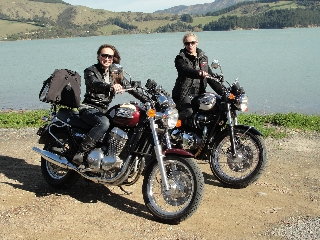 Motorbike tours Christchurch New Zealand