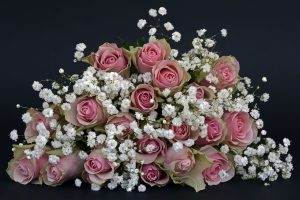 large bouquets of flowers with roses